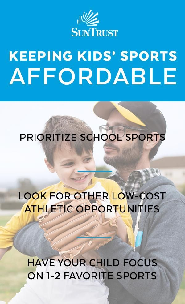 Sports are meant to be fun for everyone, but the costs can add up quickly. Support  your child with the option to choose from their favorite extra-curricular activities while keeping your budget in mind. Sports don't have to be a source of financial stress when you  make a plan that's good for the whole family.