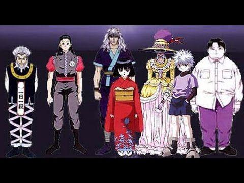 Keluarga Zaoldyeck hunter x hunter, kartun hunter x hunter, kartun anak. hunter x hunter bahasa indonesia dalam anime Hunter X Hunter dinamakan sbg keluarga