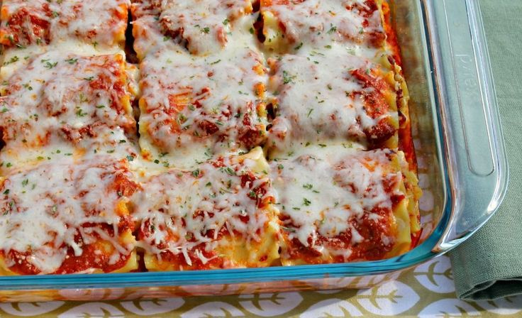 These cheesy lasagna roll ups will have the entire family - even your kids! - asking for seconds. They freeze well, too.
