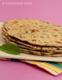 Frankly, a kulcha is not a mere accompaniment… it is a delicacy in its own right! here, i have used whole wheat flour and soya flour instead of plain flour to make the khulchas. Khulchas are thick and they fluff up like phulkas. Don't forget… they taste best when hot! traditionally, they are served with punjabi subzis but you can also try them with stuffed capsicum in tomato gravy, corn soya kofta in malwani gravy or soya vegetable medley.