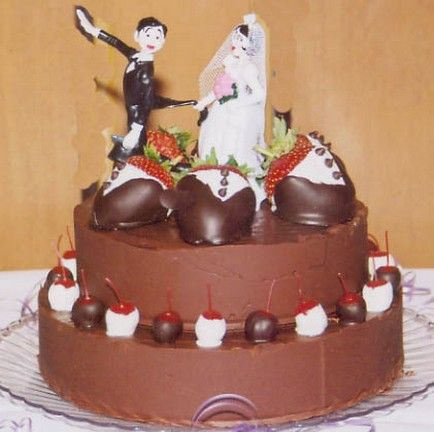 Funny Grooms Cake Ideas | Picture of funny Grooms cake