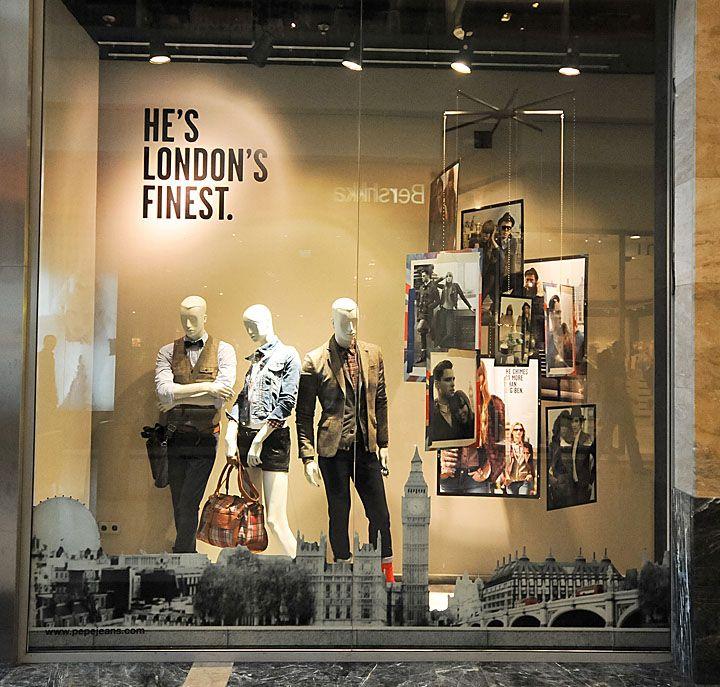 designer store window displays   window displays Autumn 2012 Budapest 02 Pepe Jeans window displays ...