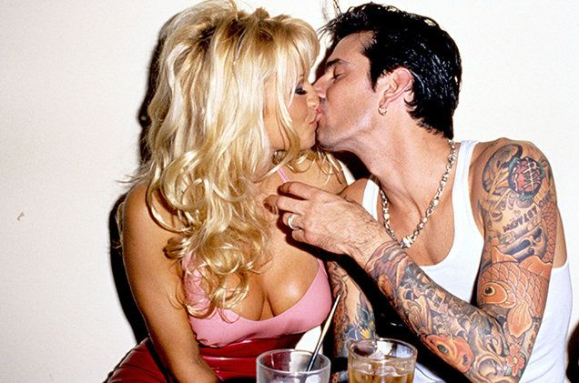 Image result for tommy lee pamela anderson