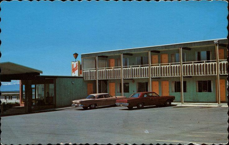 Hyatt Moter Lodge, Powell River, BC