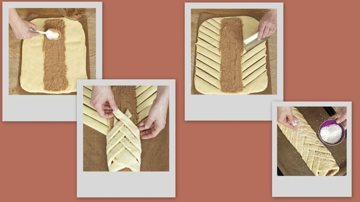 Hefezopf flechten - Einfache Anleitung für gefüllten Zopf