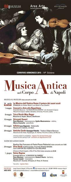 CONVIVIO ARMONICO 2015 - MUSICA ANTICA NEL CORPO DI NAPOLI | MezzoStampa - l'informazione di Scafati e dintorni