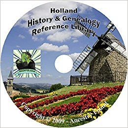 Holland History & Genealogy on DVD - 68 Books on Dutch Ancestry, Records, Family: Ancestry Found: Amazon.com: Books 1 New from $5.95