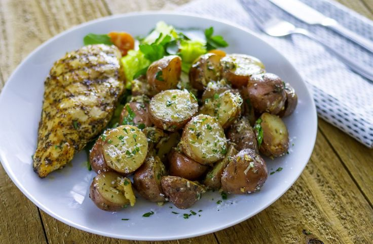 Best Bites: Crock-pot garlic parmesan potatoes - AOL Food