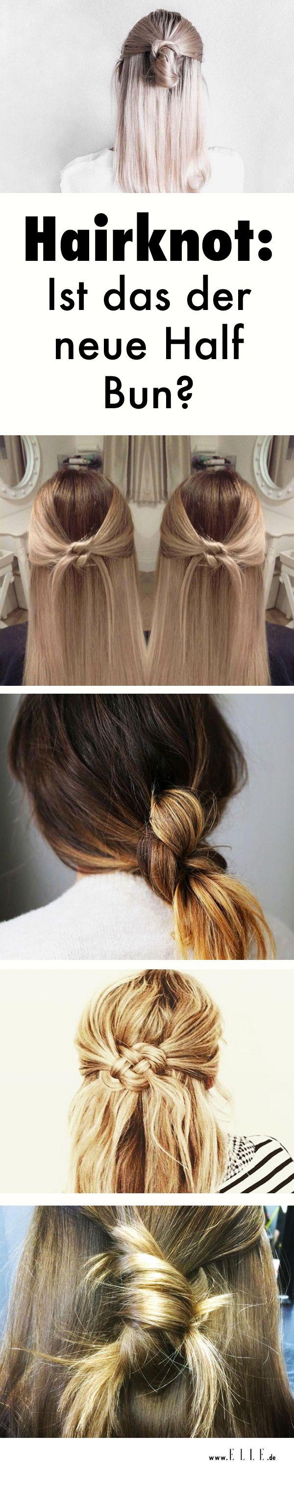 Kunstvoller als der Half Bun, aber nicht weniger lässig: Der Hairknot hat das Zeug zur absoluten Trendfrisur des Jahres! Wir erklären, wie er funktioniert.