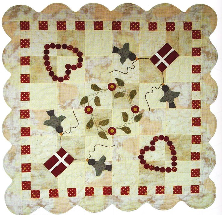 Happy Birthday Quilt. Dorthe Jollmann