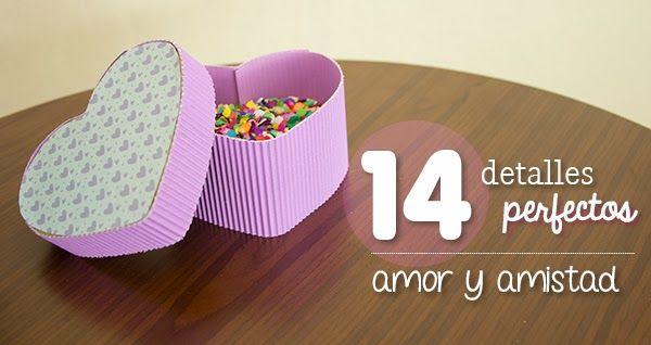 Los 14 detalles perfectos de San Valentín