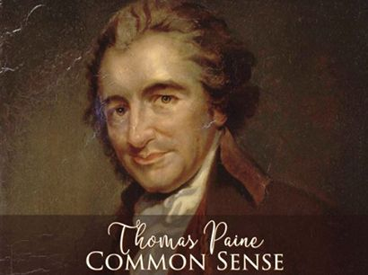 """On this day in 1776, writer Thomas Paine publishes his pamphlet """"Common Sense,"""" setting forth his arguments in favor of American independence. Originally published anonymously, """"Common Sense"""" advocated independence for the American colonies from Britain and is considered one of the most influential pamphlets in American history. """"Common Sense"""" played a remarkable role in transforming a colonial squabble into the American Revolution."""