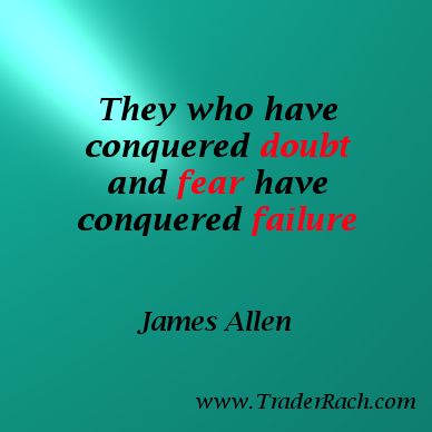 Conquer doubt and fear for exceptional performance in your forex trading.  CLICK HERE for tools to help overcome doubt in your forex trading. http://www.traderrach.com/trading-psychology/how-to-send-doubt-packing-from-your-forex-trading/