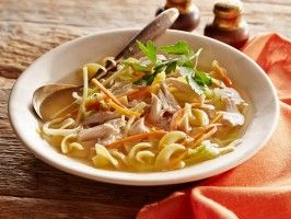 Suped-Up Traditional Chicken Noodle Soup from CookingChannelTV.com