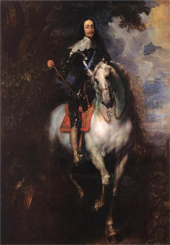 Anthony van Dyck, Equestrian Portrait of Charles I, King of England, c. 1635 - 1640
