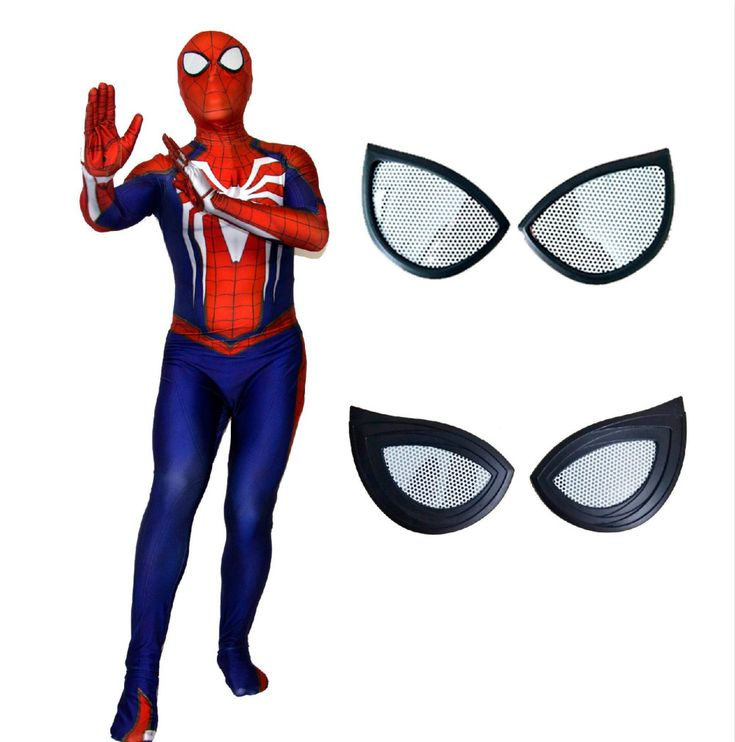 NEW PS4 INSOMNIAC SPIDERMAN Costume 3D Print Lycra Games Spiderman Suit Zentai Gift