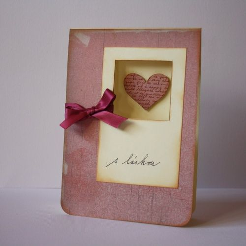 Lift of card from Kristina Werner