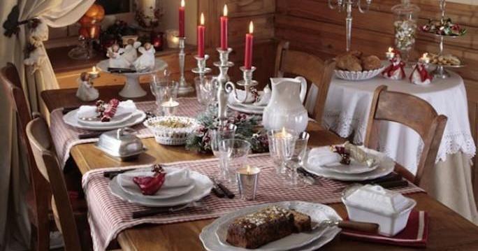 Cómo preparar una mesa para Navidad