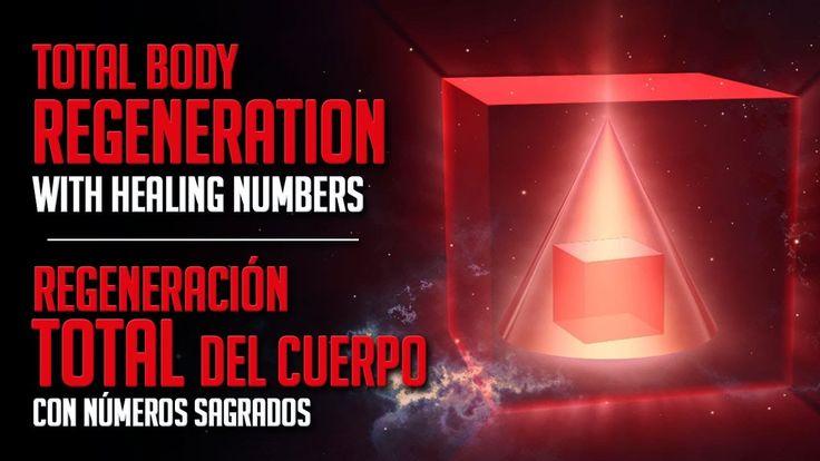 Total Body Regeneration with Healing Numbers - Regeneración Total del Cu...
