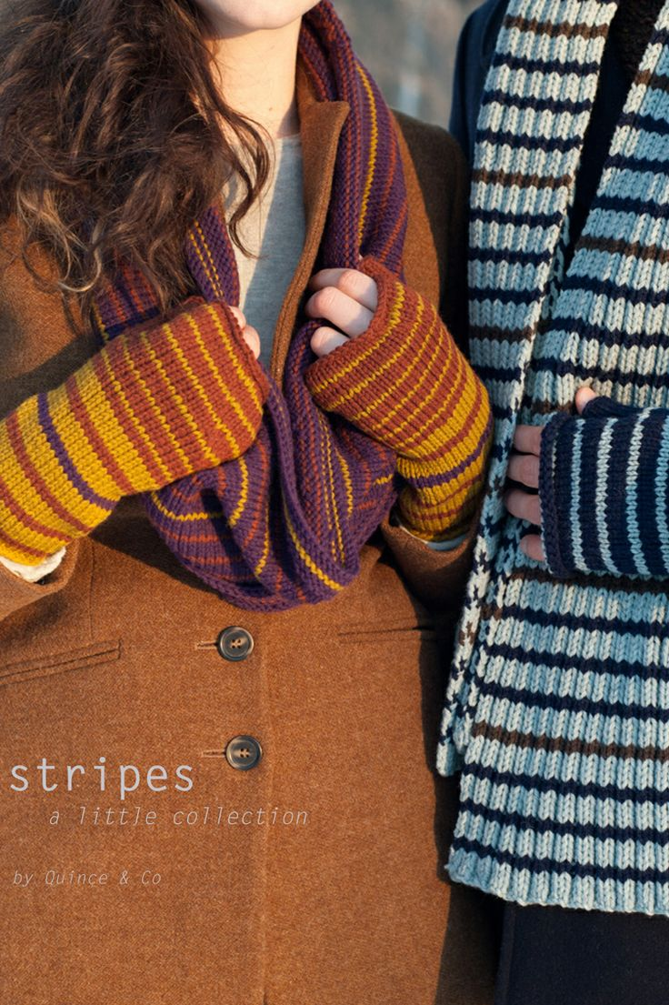 stripes: a little collection - $7.00 : Quince and Company, American Wool Yarn