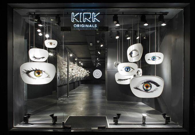 Kirk eyeglasses store in London.