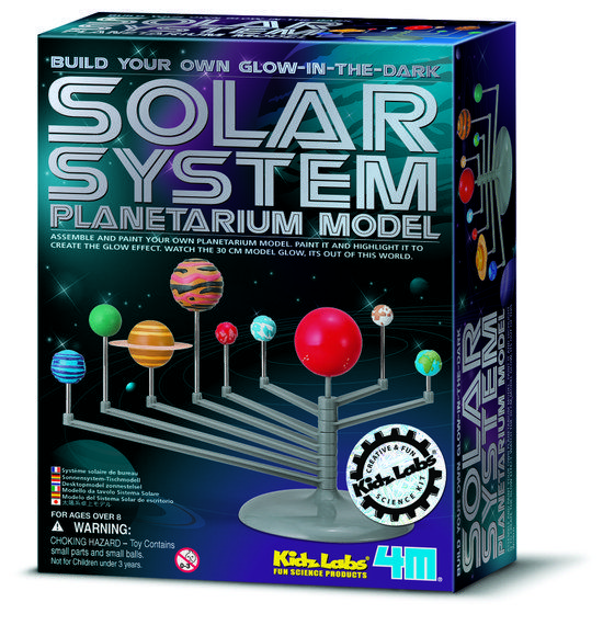 4M Kidzlabs Space Bouwset - Planetenstelselmodel