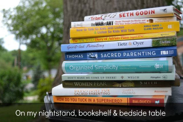 A great list of parenting books to read from Lisa-Jo Baker (tales from a Gypsy Mama)