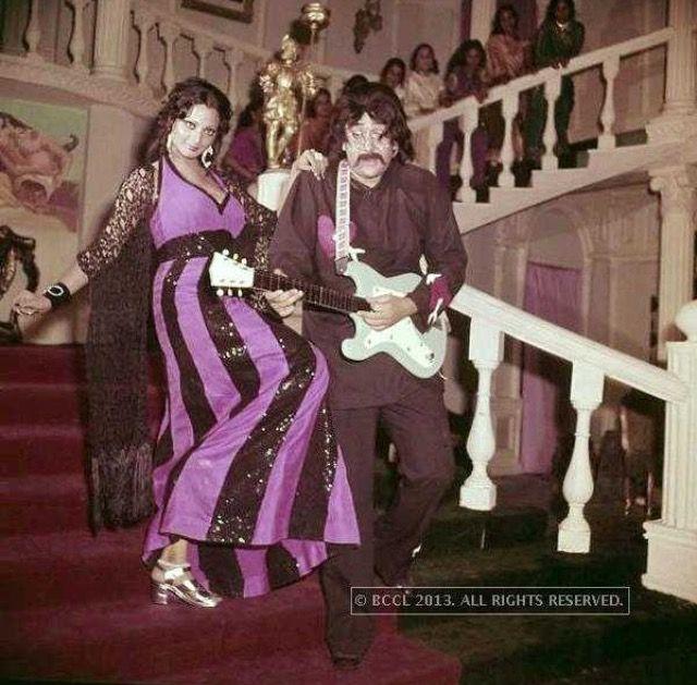 Rekha and Randhir Kapoor
