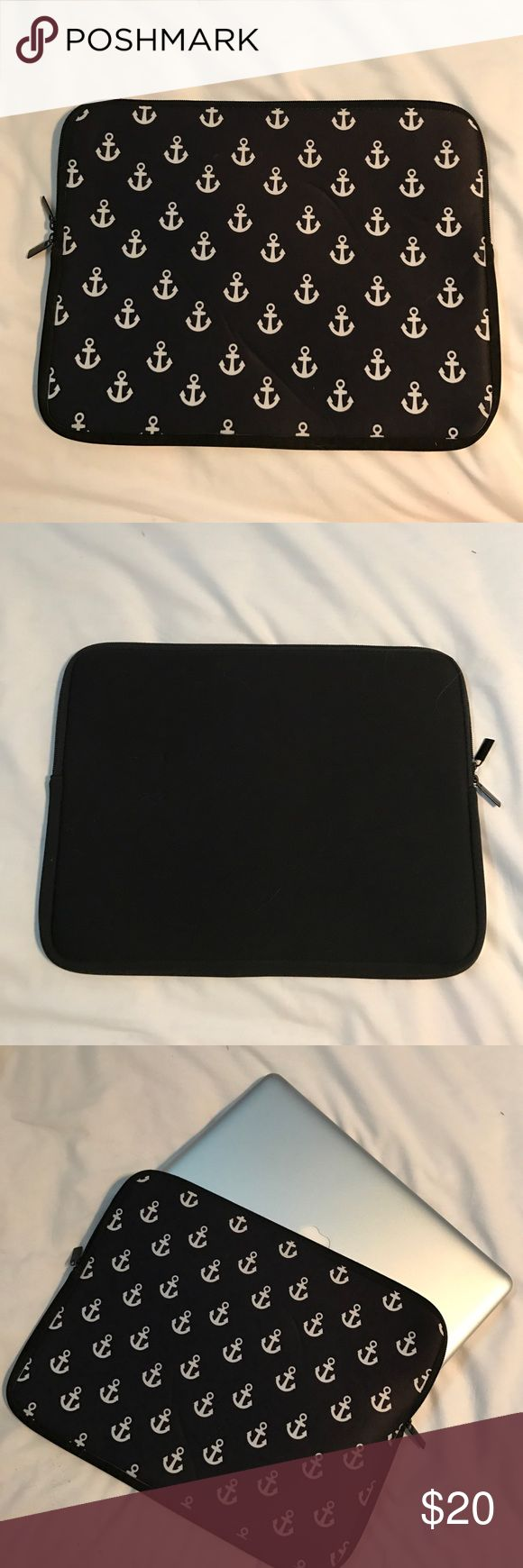 laptop case Anchor laptop case for a 13 inch Macbook Pro (or similar size laptop) ...in like new condition, received as a gift and just never used it...FOR SALE ONLY, not interested in trades sorry! Bags Laptop Bags