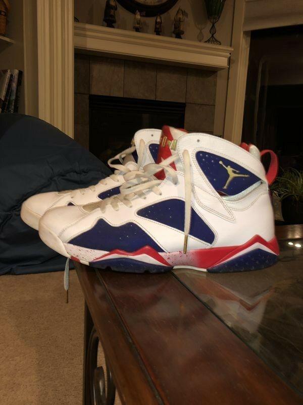 Nike Air JORDAN 7 VII Retro Olympic SZ 13 WITH BOX  fashion  clothing   shoes  accessories  mensshoes  athleticshoes (ebay link) 6eb4d7c70c