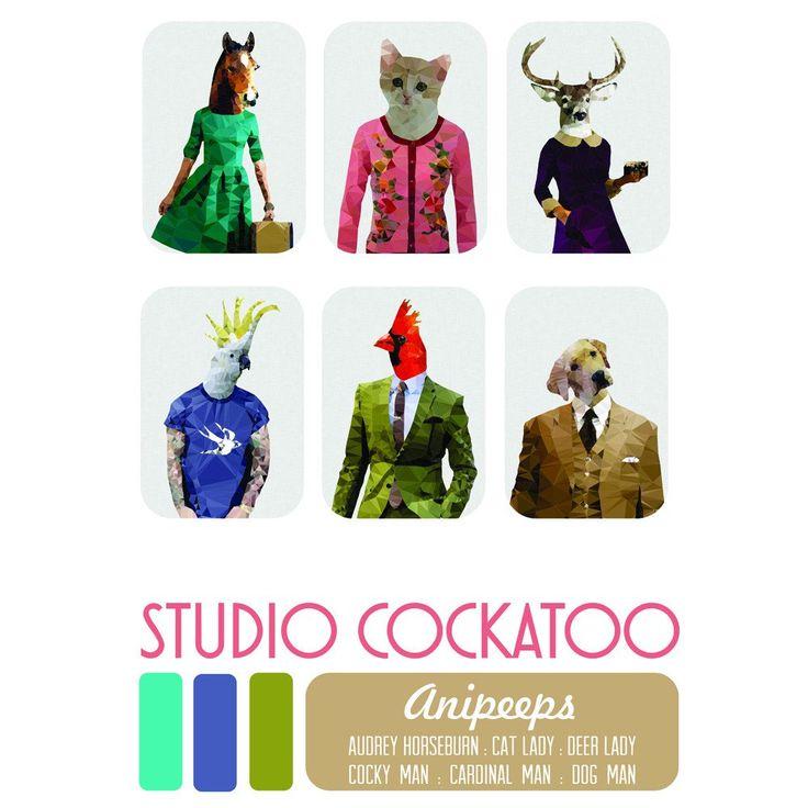 anipeeps bumper gift pack – studio cockatoo