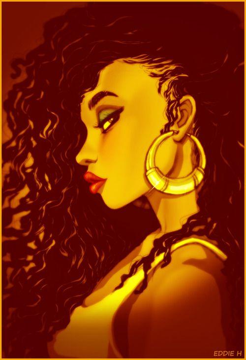 Black Women hair Art!, Its All Good by *EddieHolly Visit.. http://www.shorthaircutsforblackwomen.com/flexi-rods-on-natural-hair/