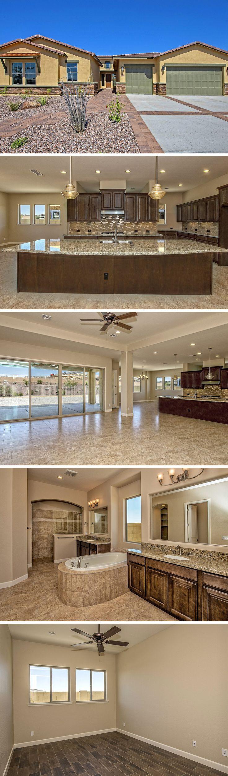 Luxury, single-story southwestern style home in Goodyear, AZ.