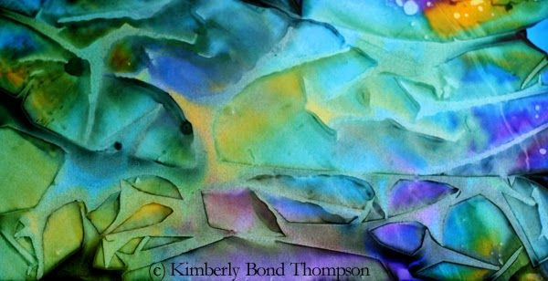 Tutorial~ Alcohol Ink Artists: Creating texture in your AI images