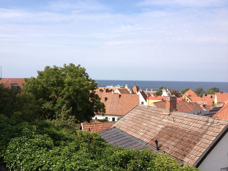 A view over Visby, Gotland, Sweden.