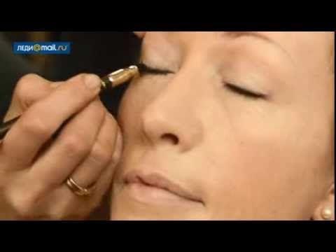 Дневной макияж для возрастной кожи - YouTube