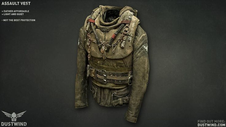 Equipment   Dustwind - multiplayer realtime tactical post-apocalyptic game #bushcraftoutfit