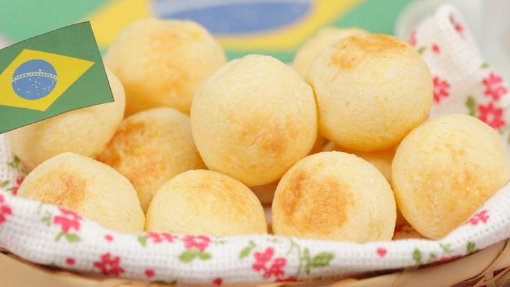 Rolê Gourmet (Special Guest): http://www.youtube.com/oRoleGourmet How to Make Pão de Queijo ポンデケージョの作り方 字幕表示可 材料(日本語)↓ (12 pieces) 100g Tapioca Starch or Flo...