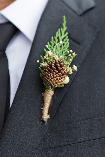 35 Pinecones Wedding Ideas for Your Winter Wedding