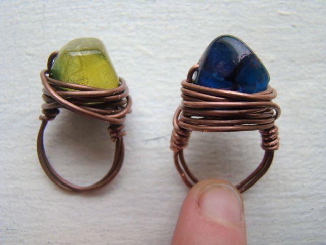 DIY: Ring Bling Tutorial - #art, #diy