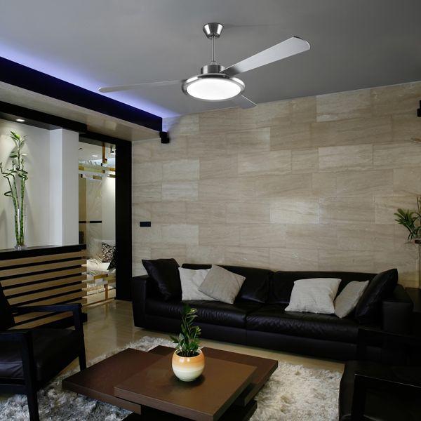 Bahia ventilatore - Leds C4 Illuminazione - Soffitto - Progetti in Luce