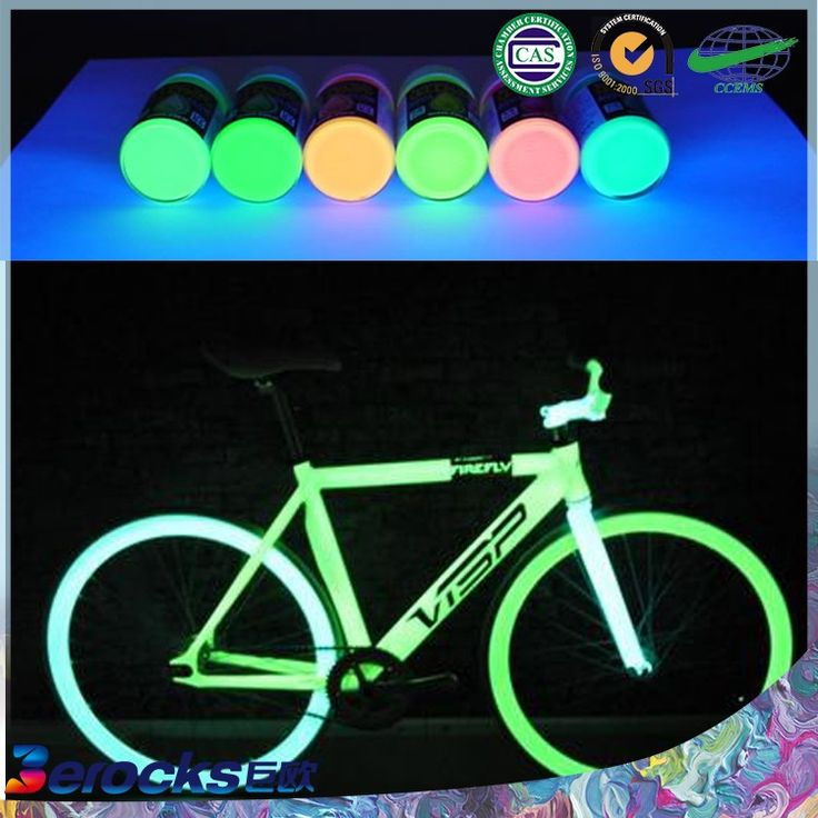 Asian waterborn washable luminous paint/glow in the dark for body