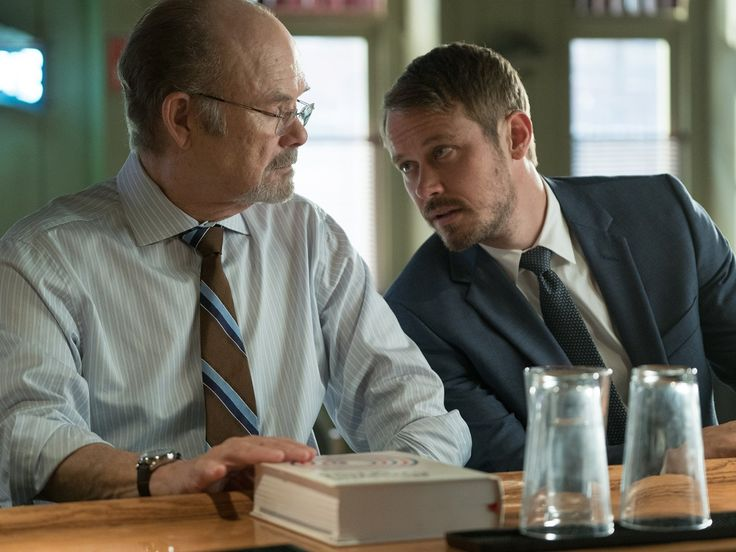 Kurtwood Smith and Michael Dorman in Patriot Series (8)