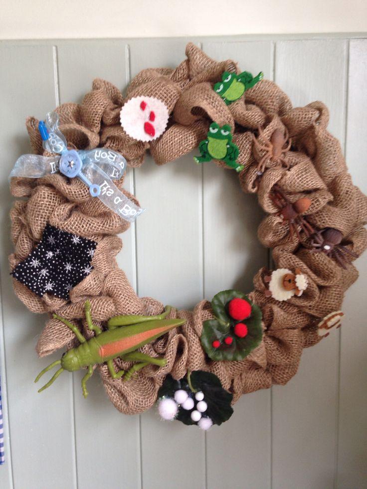 Passover wreath