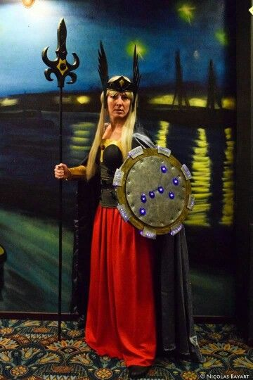 #saintseiya #hildadepolaris #asgard #odin #cosplay