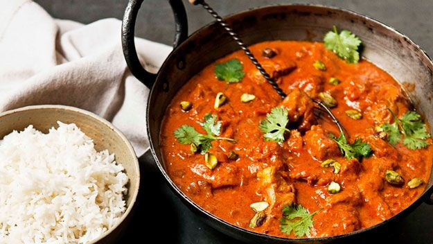 Real Living Easter recipe for Zingy butter chicken curry