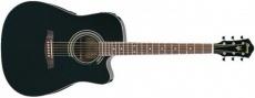 YAMAHA - Electro-acoustic Guitar V72 ECE BK.