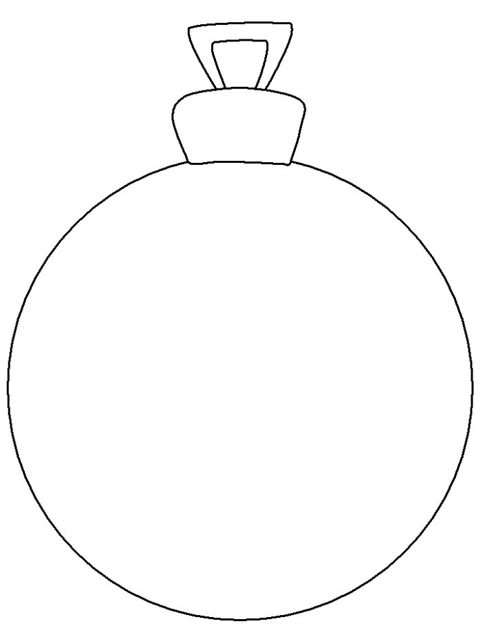 Christmas Ornament Is Great And Very Nice Coloring Page - Christmas Coloring Pages : KidsDrawing – Free Coloring Pages Online