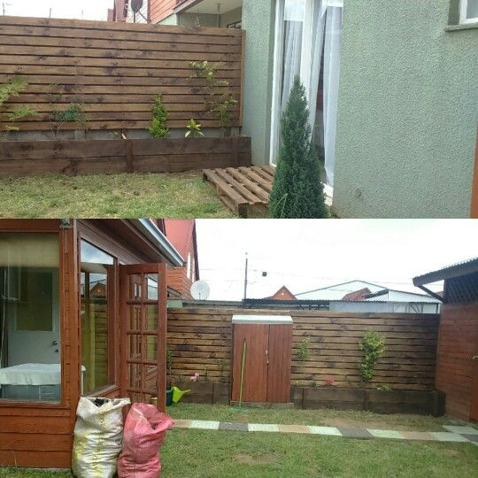 Deck madera horizontal