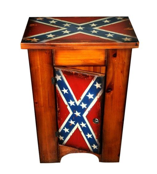 rebel-flag-rustic-wood-cabinet